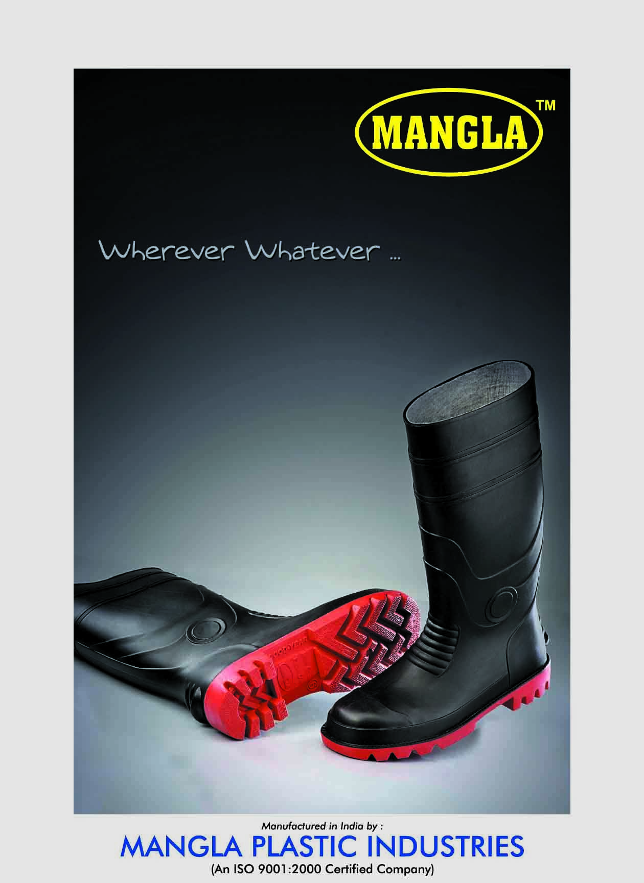 King Power Mangla Safety Gumboot