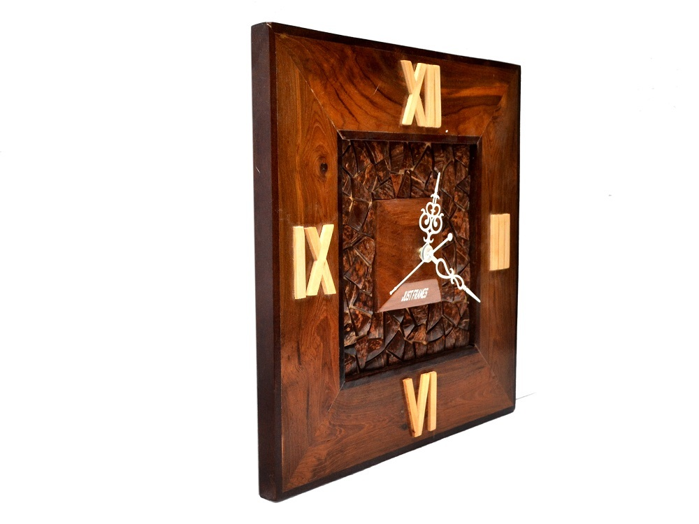 Square Shape Wall Clock