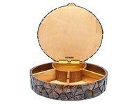 Round Shape Dryfruit Box