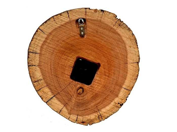 Wooden Round Shape Wall Clock