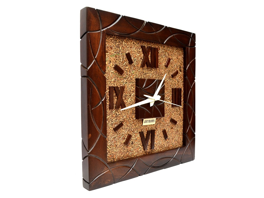 Decorative Square Shape Wall Clock