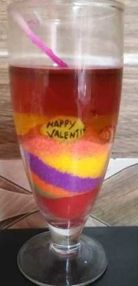 Personalised Gel Candle