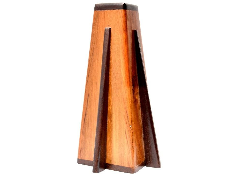 Designer Wooden Flower Vase