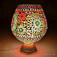 Big Size Glass Mosaic Table Lamp