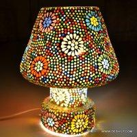 Antique & Decor Mosaic Lamp