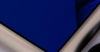 Blue Mirror Finish