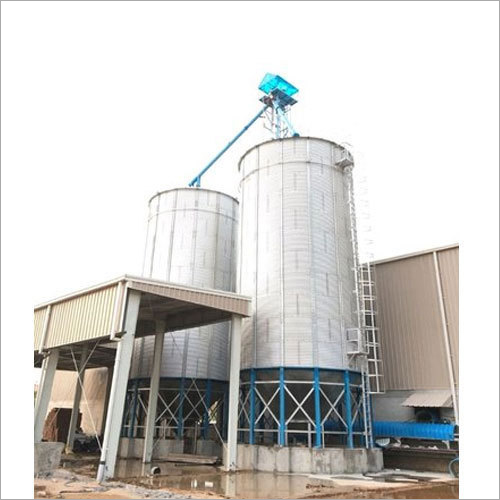 Zincalume Hopper Bottom Silo