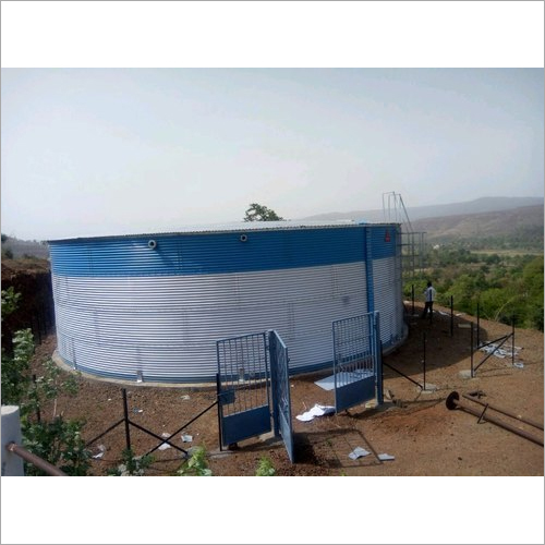 Corrugated Steel Storage Tank