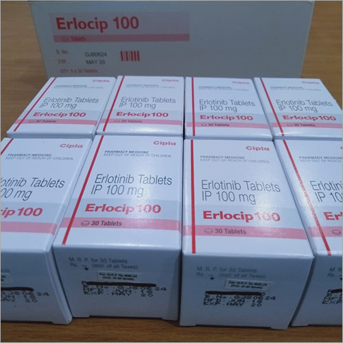 100 mg Erlotinib Tablet
