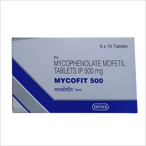 500 mg Mycophenolate Mofetil Tablets