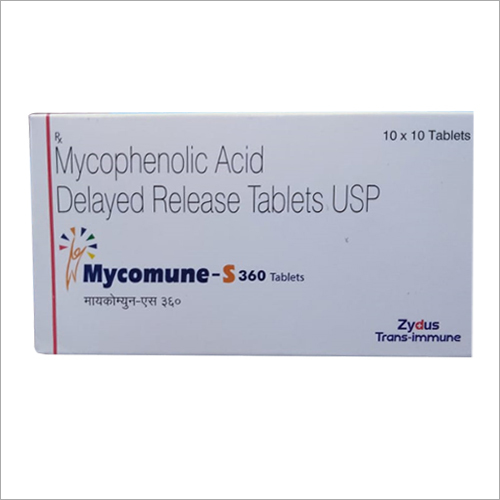 Mycophenolic Acid Delayed Release Tablet