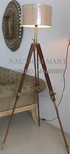 Nauticalmart Vintage Classic Tripod Floor Lamp Nautical Floor Lamp Home Decor lamp