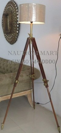 Nauticalmart Vintage Classic Tripod Floor Lamp Nautical Floor Lamp Home Decor lamp