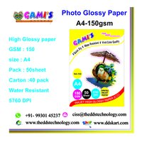 A4 150 GSM glossy photopaper traders