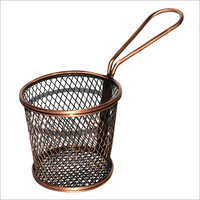 SS Round Serving Basket