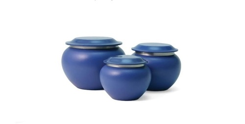 Sky Blue Pagoda Pet Urns- New