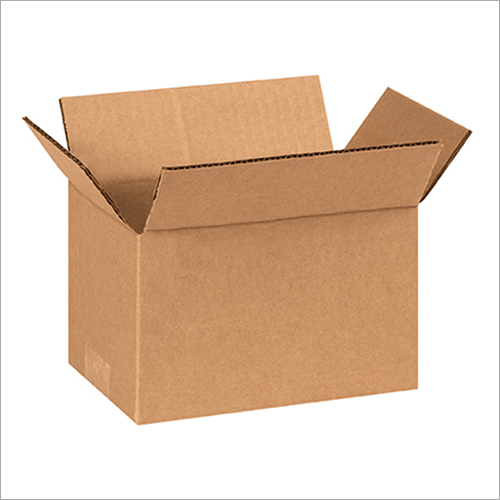 Plain Brown Corrugated Box