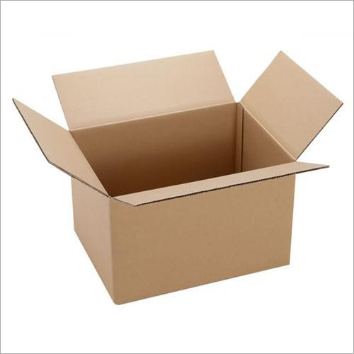 Plain Brown Corrugated Packaging  Box