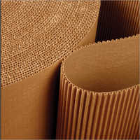 Brown Corrugated Paper Sheet