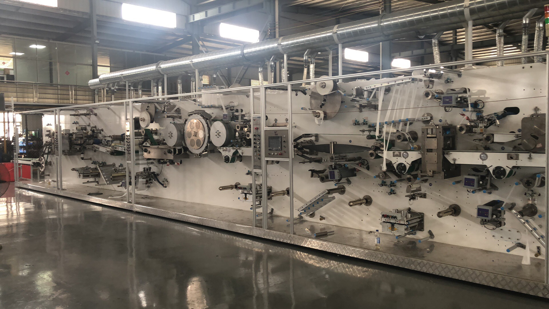 Fully Automatic Sanitary Napkin Production Line