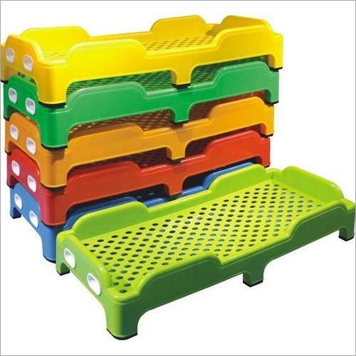 Play School Kids Plastic Bed