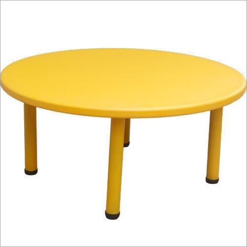 Play School Plastic Round Shaped Table