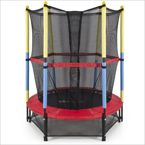 55 Inch Trampoline With Safety Net