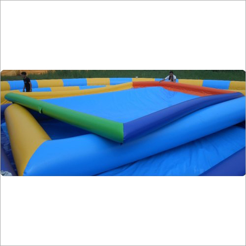 Inflatable Multicolor Pool With Blower
