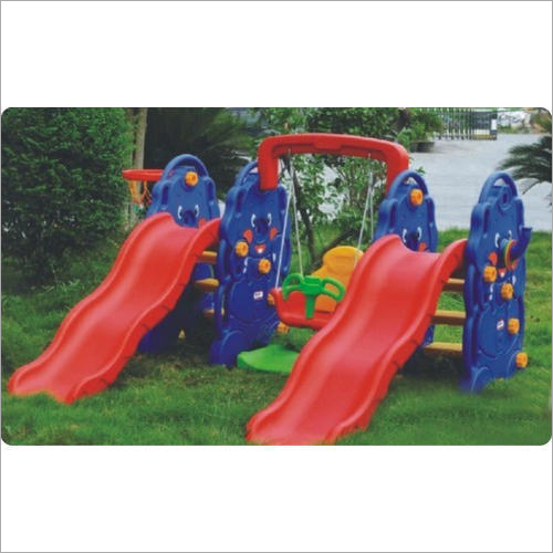 Play School Outdoor Elephant Slide With Swing