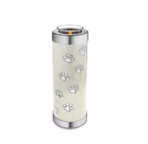 Tealight Pet Pearl Tall Urn