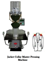 jacket collar master pressing machine