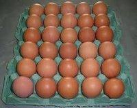 Premium Farm Fresh Chicken Table Eggs Brown