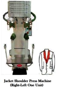 Jacket shoulder pressing machine