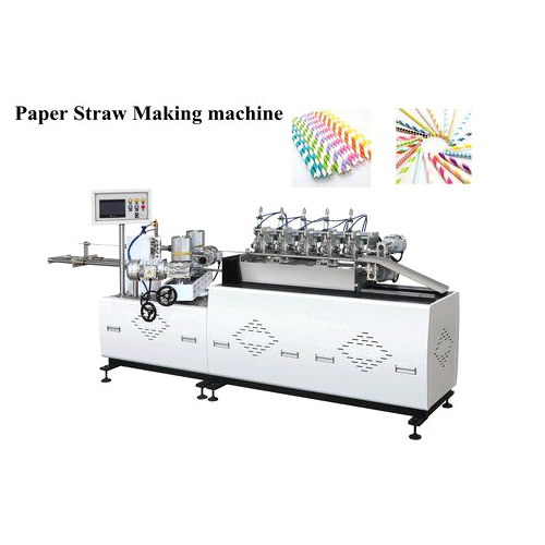 High Speed Paper Straws Machine