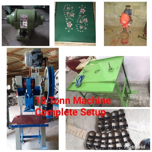 Slipper making machine complete setup (10 Tonn)
