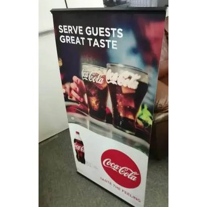 Roll Up Standee Light Weighted