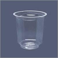 Round Shape Plastic Glass
