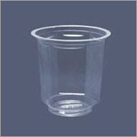 Round Shape Plastic Glass