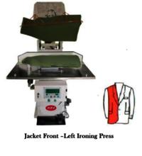 Jacket Front - left Ironing press