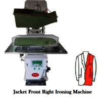 Jacket Front Right Ironing Machine