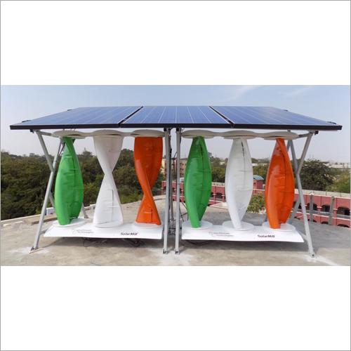 Solar Wind Hybrid Energy System