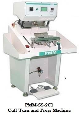 Cuff Turn and Press machine