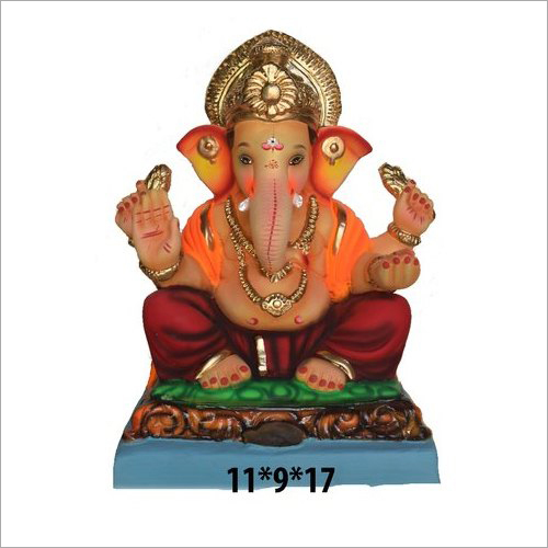 Eco Friendly Clay Ganesh Statue