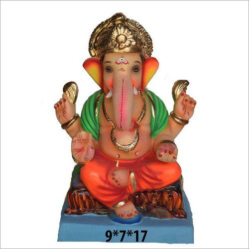 9X2X17 Inch Lord Ganesha Statue