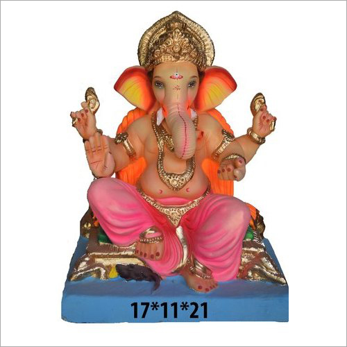 17X11X21 Inch Traditional Ganesh Statue