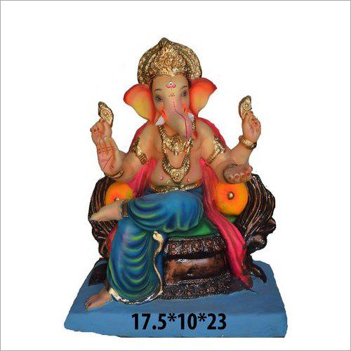 Clay Religious Ganesh Statue