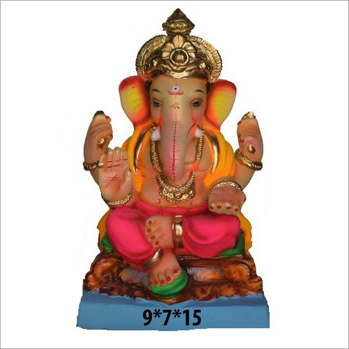 9X7X15 Inch Eco Friendly Ganesh Statue
