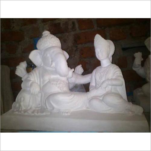 Clay Gypsum Ganesh Statue
