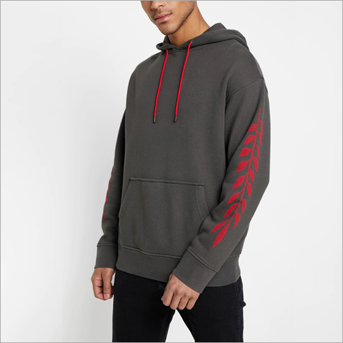 Mens Plain Hoodies