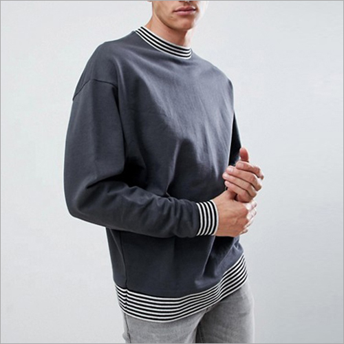 Mens Round Neck Sweatshirt